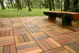 wooden patio floor tiles home act