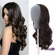 remy human hair extensions wavy half wig clip in hair extension indian remy human 100 human