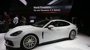 porsche panamera turbo 2017 white porsche panamera with hybrid v8 power considered