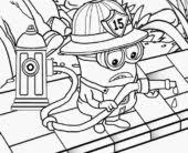 coloring pages download print eye minion despicable