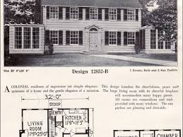 colonial revival house plans colonial house plans 1930 house plans 2017