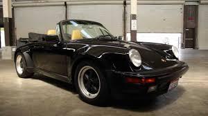 porsche singer black 1986 porsche 911 cabriolet up close u0026 personal youtube