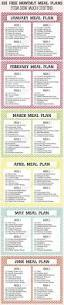 25 unique monthly meal planner ideas on pinterest monthly menu