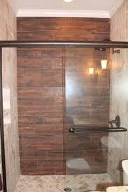 Bathroom Wall Shower Panels Best 25 Wood Tile Shower Ideas On Pinterest Rustic Shower