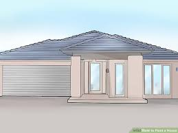 painted houses how to paint a house 12 steps with pictures wikihow