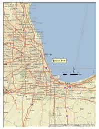 Chicago District Map by Chicago District U003e Missions U003e Civil Works Projects U003e Jackson Park