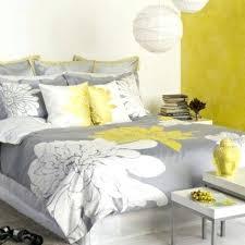 deco chambre gris et deco chambre gris et jaune la chambre u00e0 coucher frau00eecheur en