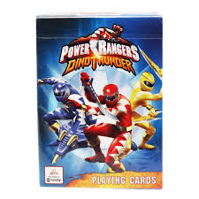 power rangers dino thunder playing cards deck walmart