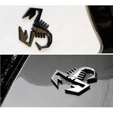 logo mercedes benz 3d 3d metal badge scorpion king emblem logo sticker decal chrome for