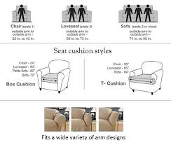 dual reclining sofa covers dual reclining sofa slipcover cream contrast taupe surefit couch cover