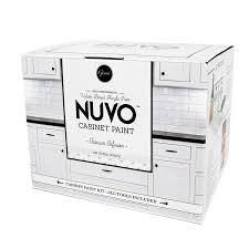 is nuvo cabinet paint nuvo white satin glaze actual net contents 62 fl oz