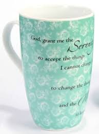 serenity prayer mug serenity prayer latte mug hazelden