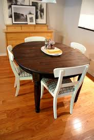Wood Table Refinishing 100 Dining Room Table Makeover Ideas 100 Plank Dining Room