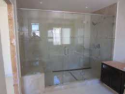 Large Shower Doors Glass Shower Doors Custom How To Clean The Glass Shower Doors