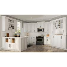 kitchen base cabinets 18 inch depth hton assembled 12x34 5x24 in base kitchen cabinet with bearing drawer glides in satin white