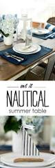 nautical table setting it all started with paint