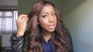 ombre hair color fro african american women my new hair golden brown locks youtube