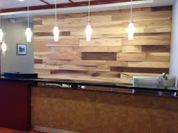 Reception Desk Miami by Reclaimed Wood Wall Featured For A Reception Desk Designed By