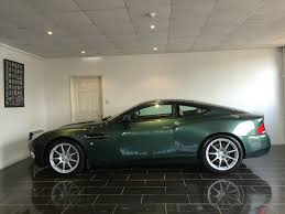 used aston martin used aston racing green aston martin vanquish for sale west sussex