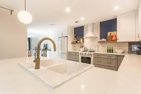 mid century modern kitchen crystal and aron u2013 cordova park kitchen remodel cabinet depot