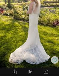 sell wedding dress uk wedding dress blue by enzoani second wedding clothes and