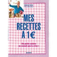 mes recettes de cuisine un livre une recette mes recettes à 1