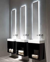 Modern Bathroom Mirror Lighting Bathroom Mirrors Lights Mesmerizing Modern With
