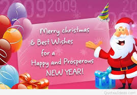 merry best wishes for a happy and prosperous new