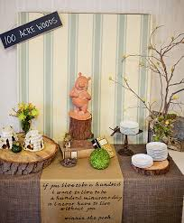 winnie the pooh baby shower decorations classic winnie the pooh baby shower ideas omega center org