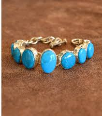 turquoise stone bracelet images Kingman turquoise 9 stone bracelet turquoise butterfly jpg