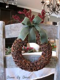 christmasiful wreaths brown wreath diy how to make