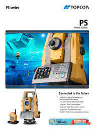 ps series topcon pdf catalogue technical documentation