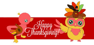 happy thanksgiving the duck the owl