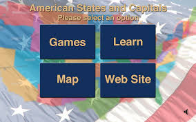 States And Capitals Map by Amazon Com American States And Capitals Appstore For Android
