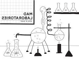 printable mad scientist lab backdrop paging supermom
