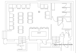 bar floor plans casual event space in faneuil cheersboston