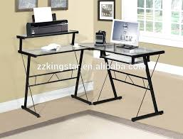 long computer desk for two computer desk two towers desk ideas