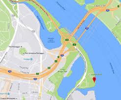 George Washington Bridge Map by Gravelly Point U0026 Long Bridge Parks Dc Maps U0026 Parking