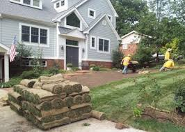 How Much To Landscape A Backyard by Sod Installation Costs U0026 Prices Promatcher Cost Report