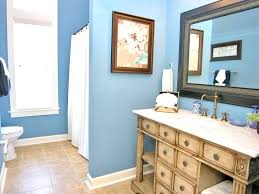 light blue and white stripes fabric curtain bathtub glass sink