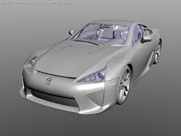 lexus lfa model lexus lfa 3d model in compact cars 3dexport