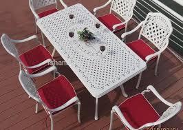 bench aluminum dining room chairs wonderful aluminum garden