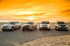 nissan pathfinder vs honda pilot 2013 family crossover comparison day four automobile magazine