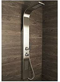 Bathroom Shower Panels Thermostatic Bathroom Stylish Shower Panel Column Tower