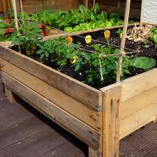 container gardening diy planter box from pallets