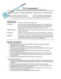 network support engineer cover letter administrator resume sample