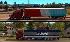 semi trailer truck tractor trailer challenges american truck simulator american