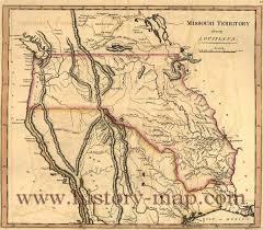 Map Missouri Territory