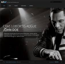 this joomla music template has a responsive layout a portfolio