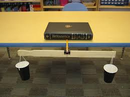 how to make a set of weighing scales krieger science